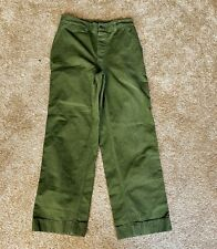 Vintage Wwii Military Pants United States Army World War Ii 2 Ww2 Herring Bone
