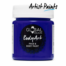 Ultra Blue 45ml Face and Body Paint Makeup Genuine Global Colours -