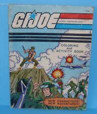 1983 GI Joe Figure Coloring & Activity Book Gung Ho Snake Eyes Steeler Scarlett
