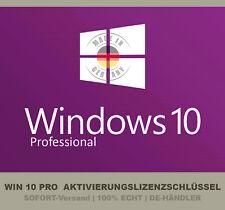Microsoft Windows 10 Pro Professional 32/64 Bit Product Key Vollversion