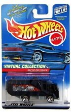 2000 Hot Wheels #143 Virtual Collection Recycling Truck 0910 G1 crd