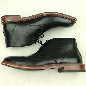 Cole Haan Barron Black Leather Chukka Boots Men's Size 10.5 M C22940