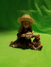 Boyds Yesterdays' Child Dollstone Collection - #3523 Whitney with Wilson .