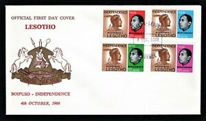 Lesotho First Day Cover 4th October 1966