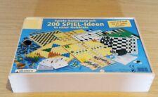Spielesammlung: 200 Spiel-Ideen in einer Holzkiste. Kinder und Familienspiel.