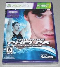 Michael Phelps: Push the Limit for Xbox 360 Kinect Brand New! Factory Sealed!