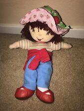 strawberry shortcake soft doll