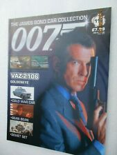 MAGAZINE ONLY JAMES BOND CAR COLLECTION 113 VAZ 2106