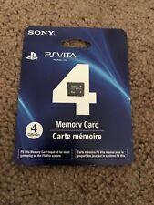 Brand New/Sealed 4GB PlayStation PS Vita Memory Card
