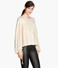 H&M Waist Length Crew Neck Tops & Shirts for Women