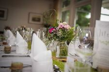 Baumscheiben Birke Natur rustikal, Tischdeko für Hochzeit, 3er-Set
