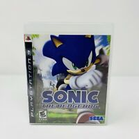 Sonic the Hedgehog Sony PlayStation 3 PS3 Game Complete With Manual Tested