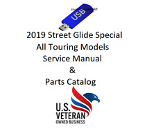 Service Manual For 2019 Harley Davidson Street Glide Special & Parts Catalog
