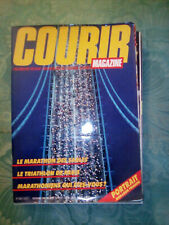 Magazine Courir 114 Novembre 1986 - Marathon de sables - Triathlon de Paris