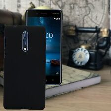 Nokia 8 Urban High Density Impact Displacement Hardened Rubberised Case Back