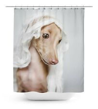 Dog Bathroom Decor Shower Waterproof Curtain Drapes - DG-SCTI101A