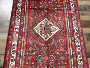 4'x11' Authentic Antique Fine wool Tribal Oriental area rug runner