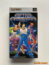 CAPTAIN COMMANDO Super Famicom Nintendo JAPAN SNES SFC IMPORT