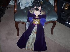 Limited Edition Kingstate Amethyst 27in Porcelain Doll Prestige Collection