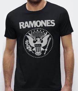 ramones eagle T-shirt black