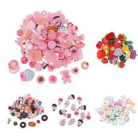 15/30/50/100x SWEETS & CANDY Decoden Flatback Cabochons Scrapbooking Phone Decor