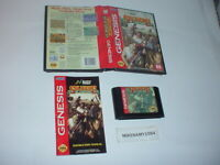 SOLDIERS OF FORTUNE game complete in case w/ manual for Sega GENESIS system