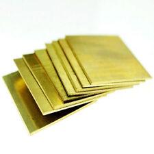 brass metal sheets flat stock ebay