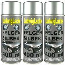 Felgensilber 3 Spraydosen  AUTOLACK FELGENSILBER 400ml von Ludwiglacke