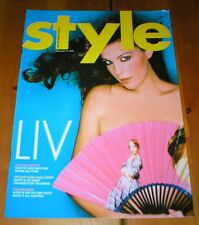 LIV TYLER lovely Style Magazine 2004 from the UK