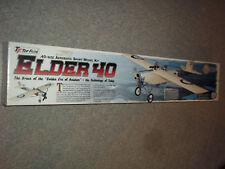 TOP FLITE ELDER 40 REMOTE CONTROL MODEL AIRPLANE KIT GREAT KIT TO BUILD AND FLY