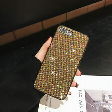 Luxury Glitte Bling Protective Back PC + Silicone TPU Soft Shockproof Case Cover