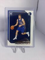 2018-19 Panini NBA Hoops LUKA DONCIC RC #268 Base Rookie LUCA DALLAS MAVERICKS