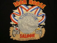 Vintage 1994 IRON HORSE SALOON Motorcycle Olympics 90's Biker Pocket T Shirt 2XL