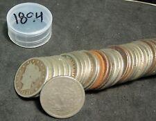 """1 Roll (40) 1894 Liberty """"V"""" Nickels - Culls - No Holes"""
