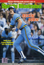 Robin Yount Sports Illustrated Autograph Poster - Milwaukee Brewers