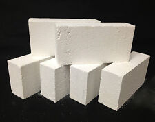 "K-26 Insulating Firebrick CASE of 24 IFB 9"" x 4.5"" x 2.5"" Thermal Ceramics 2600F"