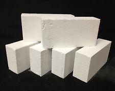"""K-26 Insulating Firebrick BOX of 24 Fire Brick 9x 4.5x 2.5"""" IFB Thermal Ceramics"""