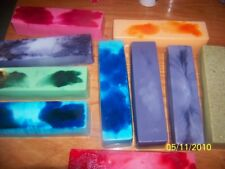 WHOLESALE LOT OF 10 HOMEMADE GOAT'S MILK/SHEA/OLIVE OIL SOAP 2.5lb Loaves