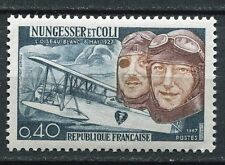 STAMP / TIMBRE FRANCE NEUF LUXE ** N° 1523 ** NUNGESSER COLI ET AVION LEVASSEUR