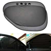 2Pcs Mesh UV Protection Side Rear Window Car Sun Shade Cover Sunshade Shield BA