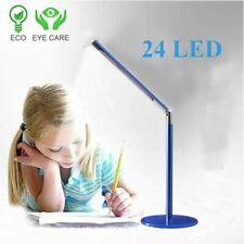 Adjustable Rotatable USB Light 24SMD Bright LED Table Desk Lamp Study Reading BT