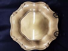 Charge It! by Jay 13'' Baroque Gold Charger Plate EUC