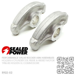 SEALED POWER ROCKER ARMS (PAIR) 6-CYL RB30E 3.0L [HOLDEN VL COMMODORE/CALAIS]