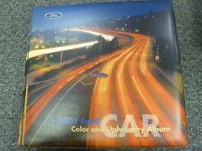 2001 Ford Mustang Color & Upholstery Selector Dealership Manual GT Cobra Convert