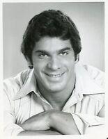 LOU FERRIGNO SMILING PORTRAIT THE INCREDIBLE HULK ORIGINAL 1978 CBS TV PHOTO