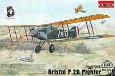 1/48 Bristol F.2B WWI RAF fighter  Roden 425 Model kit