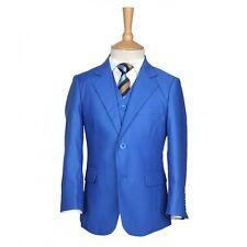 Boy 5 Pieces Avaible Royal Blue, Burgundy, Silver, Blue Suit Boys Wedding Suits