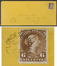 Large Queen 27ii 6¢ pl2 SOFT WHITE, cover Londesborough SP 2 69 with Certificate
