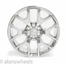 "4 NEW Chevy Silverado Avalanche Chrome 22"" Wheels Rims Lugs Free Shipping 5656"