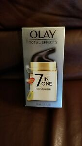 Olay Total Effects 7-In-1 Anti-Aging Moisturizer 1.7 Fl. Oz. NEW IN BOX